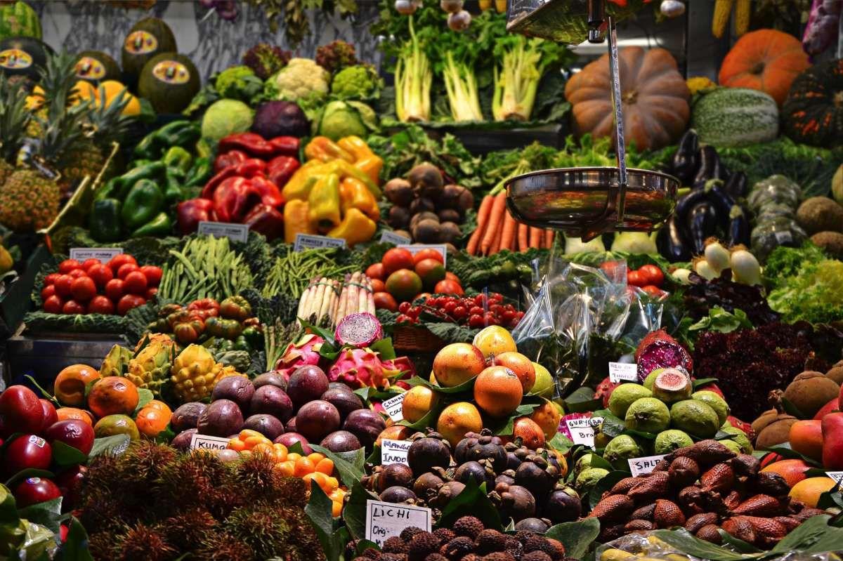 Gemüseplatte als 'Beilage'